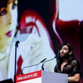 Conchita Wurst souhaite mettre fin aux clichés liés au VIH - Conférence sida / Amsterdam