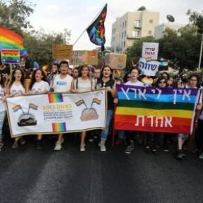 Plus 20.000 personnes à la Gay Pride de Jérusalem, sous haute  surveillance - Israël