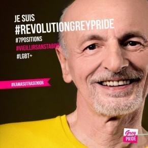 Une campagne de sensibilisation à la sexualité des seniors gays - 3ème âge