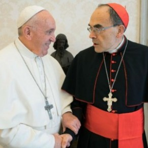 Le pape refuse la démission de Barbarin - Eglise catholique / Pédophilie