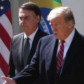 Trump et Bolsonaro affichent leur accord sur les <I>modes de vie traditionnels</I>