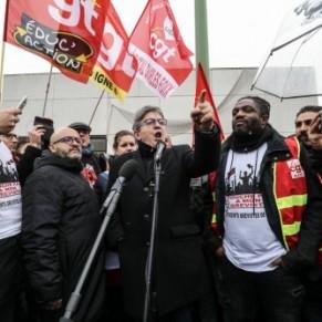 Mélenchon nie l'homophobie des agents RATP contre leur collègue non-gréviste - Insultes homophobes