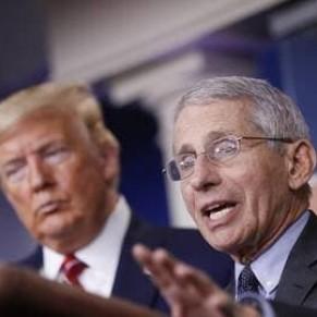 En décalage avec Trump, son expert en Covid-19 met en garde contre un déconfinement hâtif  - Etats-Unis