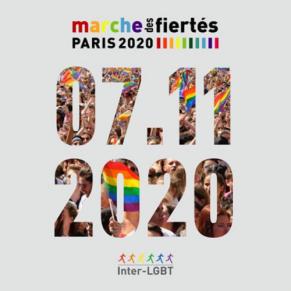 La Marche des Fiertés LGBT de Paris aura lieu le 7 novembre 2020 - Gay Pride