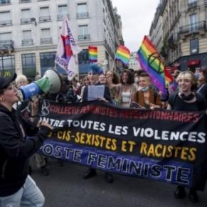 2 à 3.000 manifestants rassemblés pour une Gay Pride politique et radicale réduite  - Paris