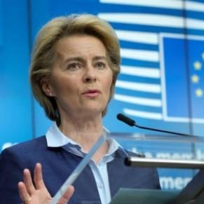 La présidente de la Commission européenne affiche son soutien aux personnes LGBT