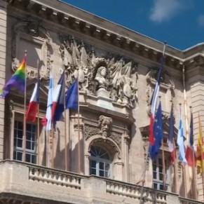 Le maire LR du 6ème secteur refuse de faire flotter le drapeau LGBT sur sa façade - Marseille