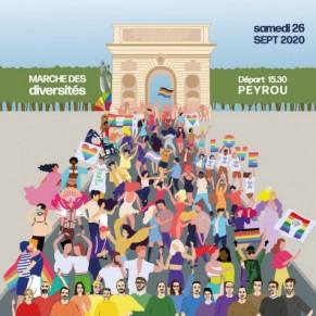 La Pride part en Live... - Montpellier