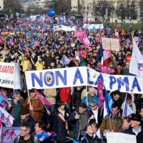 Contre la PMA pour toutes, une soixantaine de manifestations annoncées en France samedi - Egalité