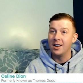 Ce fan de Céline Dion porte désormais le nom de son idôle - Angleterre