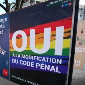 Première condamnation au nom de la loi pénalisant l'homophobie  - Suisse