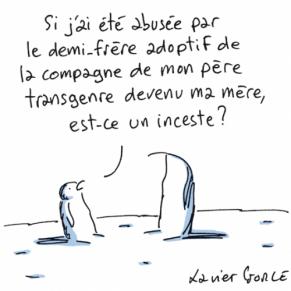 Le Monde présente ses excuses après un dessin problématique évoquant l'inceste et les transgenres - Polémique
