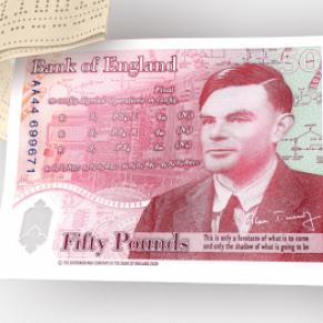 Alan Turing, mathématicien victime d'homophobie, effigie du nouveau billet de 50 livres - Royaume-Uni