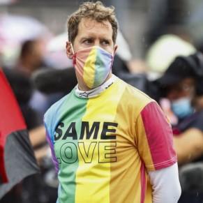 Quatre pilotes ont reçu un avertissement pour leur t-shirt arc-en-ciel en soutien aux LGBT - Formule 1 / Hongrie