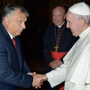 Entre Orban et le pape, divergence sur les personnes LGBT - Hongrie / Vatican