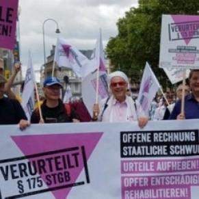 Victimes d'une ancienne loi homophobe, 249 hommes vont être indemnisés - Allemagne