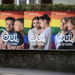 Les Suisses votent largement pour le mariage pour tous - Référendum
