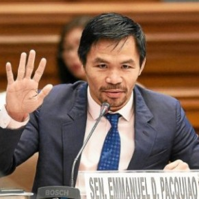 Manny Pacquiao, au nom de la boxe, de la politique et du Saint-Esprit - Philippines